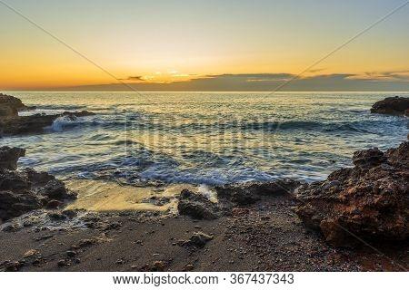 A Sunrise On The Coast Of La Renega, Costa Azahar