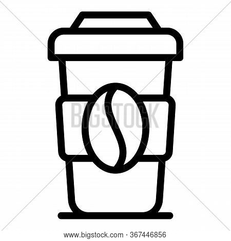 Original Coffee Cup Icon. Outline Original Coffee Cup Vector Icon For Web Design Isolated On White B