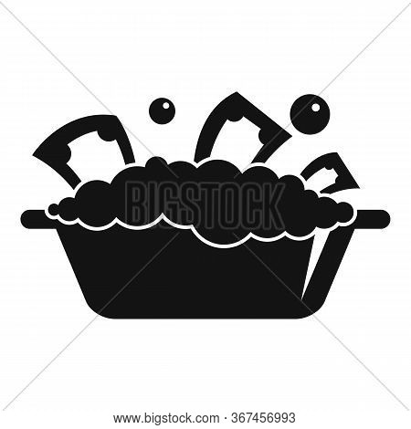 Basin Money Wash Icon. Simple Illustration Of Basin Money Wash Vector Icon For Web Design Isolated O