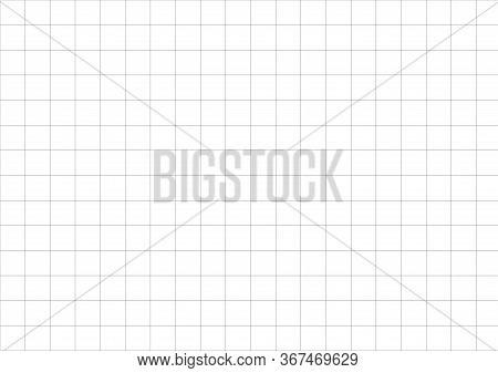 Blueprint Vector Paper A5 Sheet. A Blank Of The Universal Format A5. International Paper Size Standa
