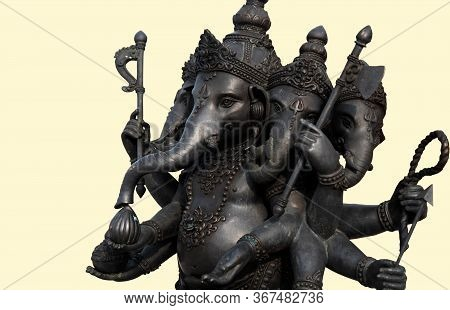 Lord Ganesha , Ganesha Festival Golden Ganesha Has Old Power In Religious Sites That Are Separated F