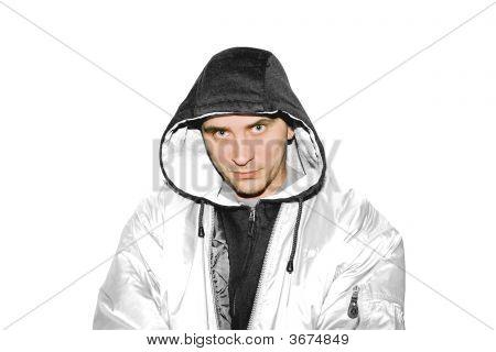 Rapper In White Jacket