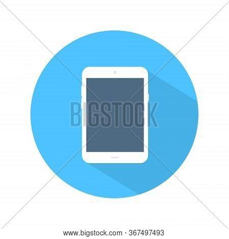 Tablet Flat Icon Vector. Modern Tab Design Illustration