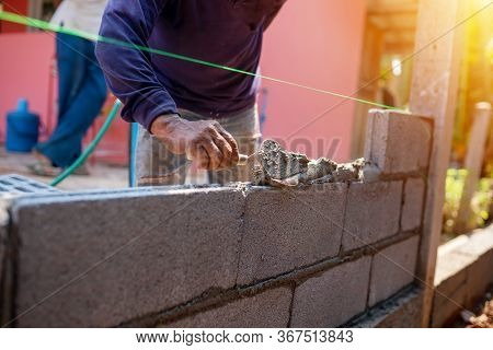 Techniques For Cement Masonry For The Construction Of Building Fences