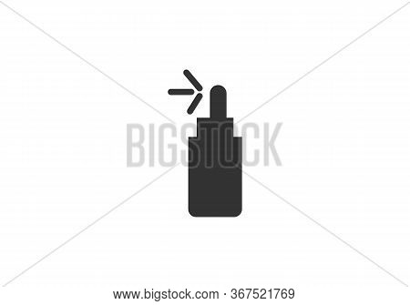 Man French Perfume Icon. Outline Man French Perfume Vector Icon For Web Design Isolated On White Bac