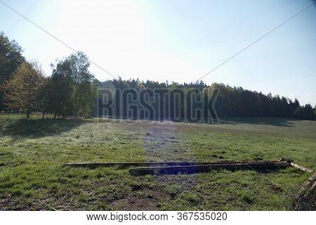 Natural Landscape In The National Park Sumava In Czech Republic