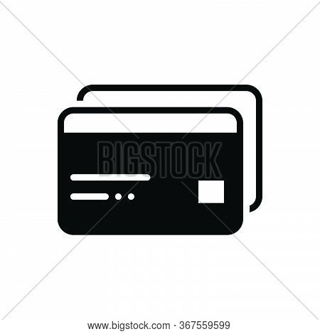 Black Solid Icon For Atm-cards Atm Cards Payment Transaction Credit Debit