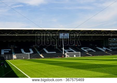 London, England - August 24, 2019: General View Of The Venue Ahead Of The 2019/20 Efl Skybet Champio