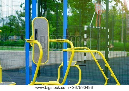 Street Sport Playground Fitness Exercise In The Park
