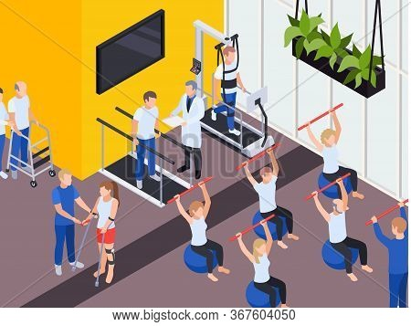 Individual And Group Functional Rehabilitation Exercise Programs Physiotherapy Treatment Session Med