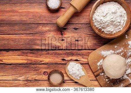 Bakery Products -flour, Dough, Yeast, Salt.