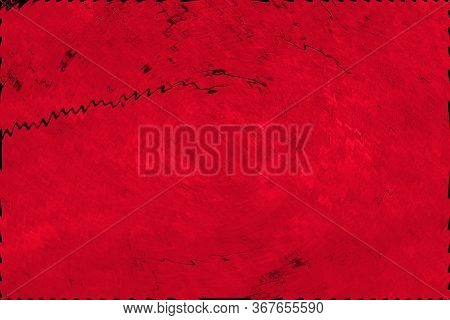 Red Blurred Background. Red Background With Small Waves.