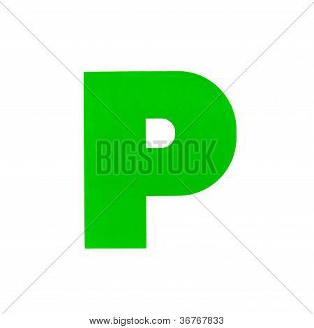 P Plate