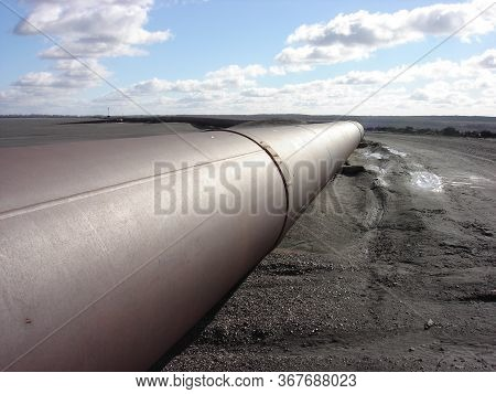 Tailings Storage Depots. The Ore Tails. Tailings Storage, Pipelines.