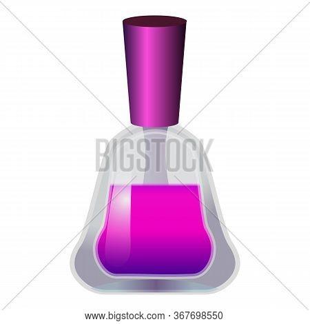 Spray Woman Perfume Icon. Cartoon Of Spray Woman Perfume Vector Icon For Web Design Isolated On Whit