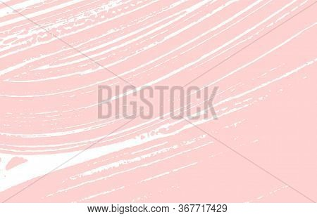Grunge Texture. Distress Pink Rough Trace. Fancy Background. Noise Dirty Grunge Texture. Juicy Artis