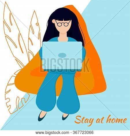 Stay At Home, Create Comfortable Conditions For Online Work, Study, Hobbies, Communications. Your Ap