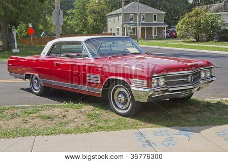 Vintage Red Buick