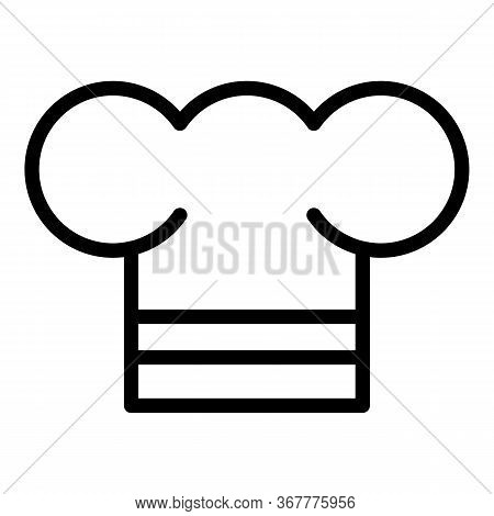 Chef Cap Icon. Outline Chef Cap Vector Icon For Web Design Isolated On White Background