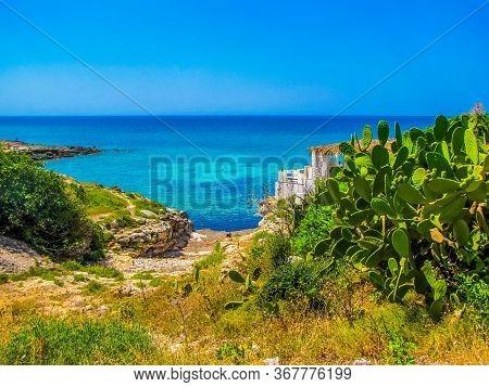 Amazing Bay In Salento, Apulia, South Italy