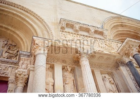 The Abbey Of Saint-gilles, Monastery In Saint-gilles, Southern France