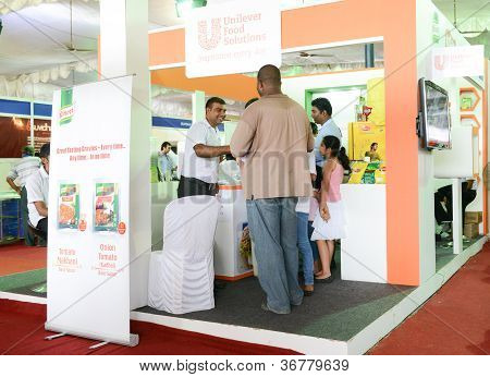 Unilever Food Solutions Stall