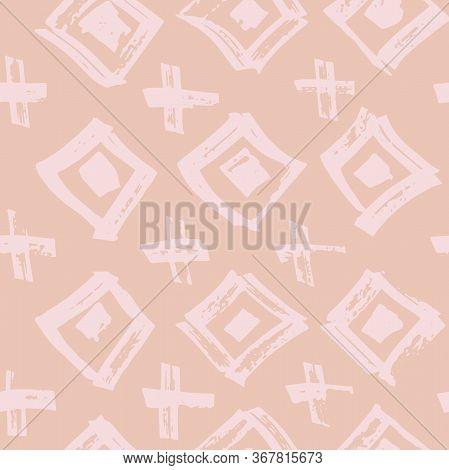 Tie Dye Japanese Geometric Modern Seamless Pattern. Geo Wabi Sabi Patchwork Kimono Print. Boho Tie D