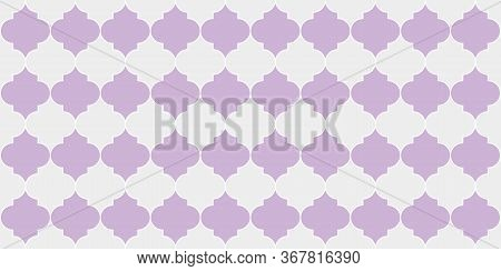 Ramadan Traditional Golden Mosque Shape. Moroccan Seamless Mosaic Pattern. Seamless Moroccan Ornamen