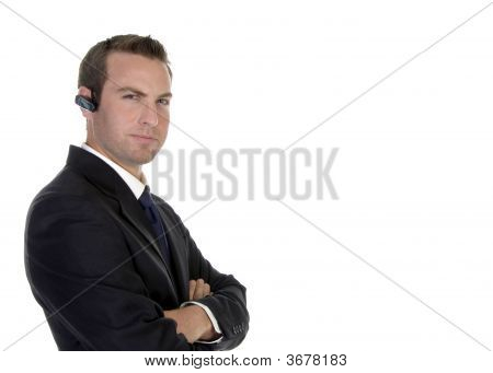 Smart Businessman With