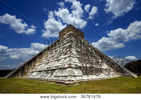 Temple Of Chichen Itza
