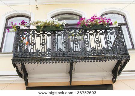 Iron Beautiful Balcony