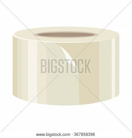 Vector Illustration Of Scotch And Tape Logo. Graphic Of Scotch And Roll Stock Symbol For Web.