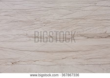 Close Up Of Beige Quartzite Stone Texture.