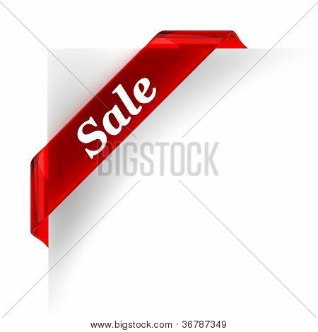 Sale Red Banner