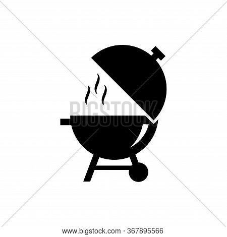 Barbeque Icon Flat Vector Template Design Trendy