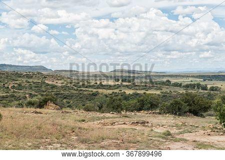 Ruins On The Eland Hiking Trail At Eingedi Near Ladybrand