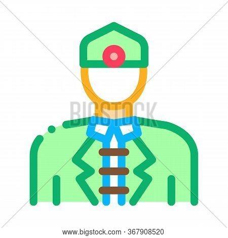 Malaysian Men Icon Vector. Malaysian Men Sign. Color Symbol Illustration