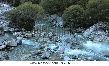 Mountain Stream In The Dolomites 3