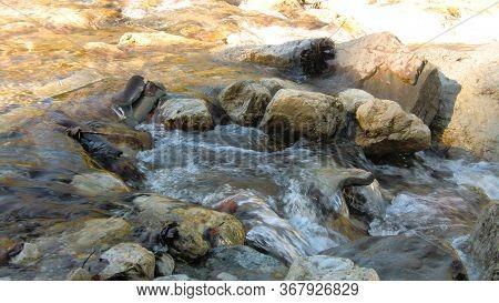 Mountain Stream In The Dolomites 6