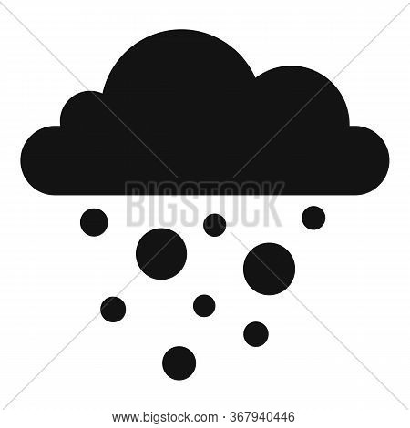Nature Blizzard Icon. Simple Illustration Of Nature Blizzard Vector Icon For Web Design Isolated On