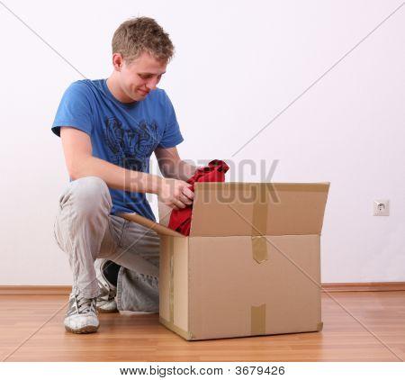 Unpacking A Box