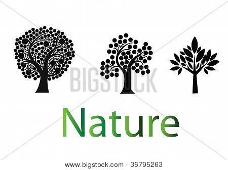 Nature Trees Logo