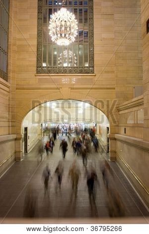 Rush Hour At Grand Central Station, New York