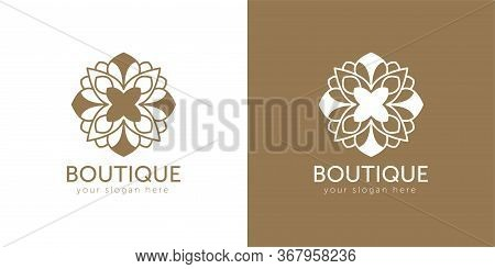 Luxury, Heraldic, Royal, Decoration, Boutique Logo. Interior Icon. Fashion, Jewelry, Beauty Salon, H
