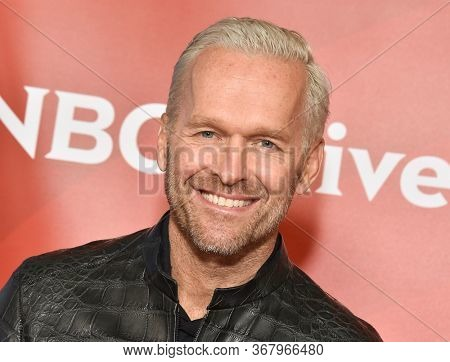 LOS ANGELES - JAN 11:  Bob Harper on the red carpet at the NBCUniversal Winter TCA 2020 on January 11, 2020 in Pasadena, CA