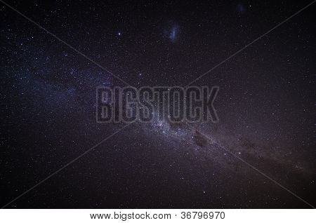 The Milky Way In The Night Sky