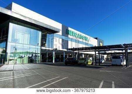 Finestrat, Spain - March 11, 2020: Mercadona Supermarket In Finestrat, Spain. Mercadona Is Popular S