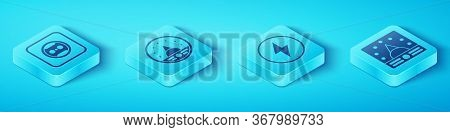 Set Isometric Electrical Outlet, Ampere Meter, Multimeter, Voltmeter, Ampere Meter, Multimeter, Volt