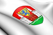 Winsen an der Aller Coat of Arms Germany. Close Up. poster