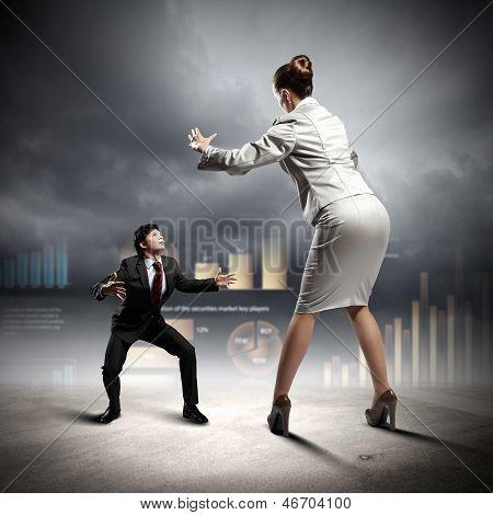 Business dispute